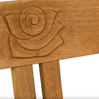 Zahradní lavice ROSE přírodní 4