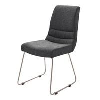 Jídelní židle SADIE 1 antracitová 1
