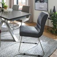 Jídelní židle SADIE 1 antracitová 2
