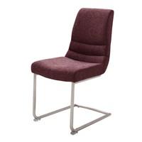 Jídelní židle SADIE 2 tmavě červená 1