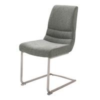 Jedálenská stolička SADIE 2 sivá 1