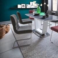 Jedálenská stolička SADIE 2 sivá 3