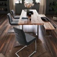 Jídelní židle SADIE 2 antracitová 2