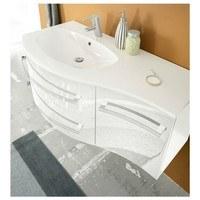 Umyvadlová skříňka s umyvadlem SALINAS bílá 4