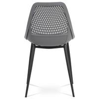 Jedálenská stolička SALLY sivá/čierna 5