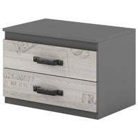 Nočný stolík SANTANA SA-10 grafit/dub santana 1