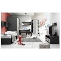 TV stolek SANTANA SA-18 grafit/dub santana 2