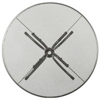 Kulatý stolek SAVOY šedý kov 3