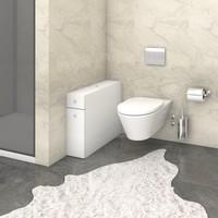 Koupelnová skříňka SMART bílá 2