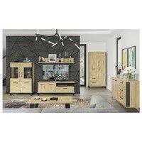 TV stolek SOFT LT1 dub artisan/černá 2