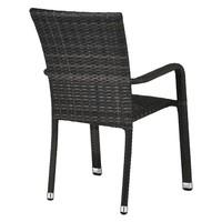 Zahradní židle  SOLESINO tmavě šedá 3
