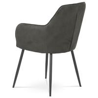 Jedálenská stolička SONJA sivá 4