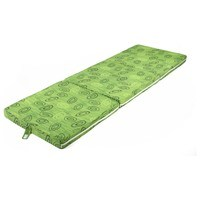 Skládací matrace SPIRALY zelená 1
