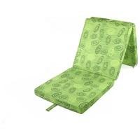 Skládací matrace SPIRALY zelená 2