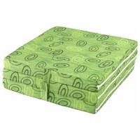 Skládací matrace SPIRALY zelená 3