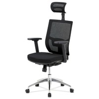 Kancelárska stolička STUART čierna 1