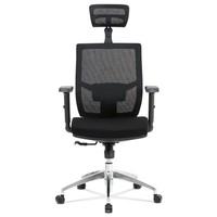 Kancelárska stolička STUART čierna 2