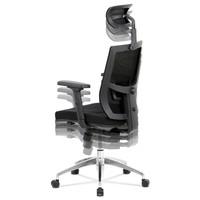 Kancelárska stolička STUART čierna 4