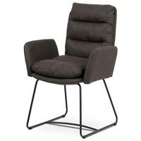 Jedálenská stolička SVATAVA hnedá 1