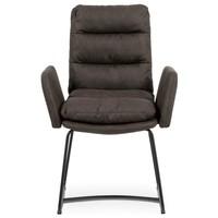 Jedálenská stolička SVATAVA hnedá 2
