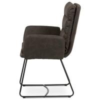 Jedálenská stolička SVATAVA hnedá 3