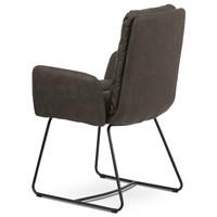 Jedálenská stolička SVATAVA hnedá 4