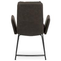 Jedálenská stolička SVATAVA hnedá 5