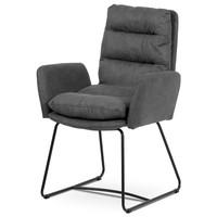Jedálenská stolička SVATAVA sivá 1