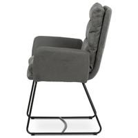 Jedálenská stolička SVATAVA sivá 3