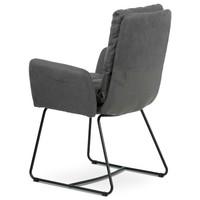 Jedálenská stolička SVATAVA sivá 4
