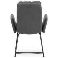 Jedálenská stolička SVATAVA sivá 5