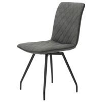 Jídelní židle TATJANA I S antracitová 1