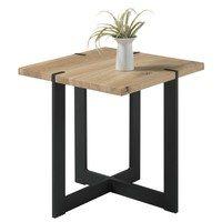 Přístavný stolek TIAGO MINI dub/černá 1