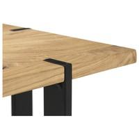 Přístavný stolek TIAGO MINI dub/černá 2