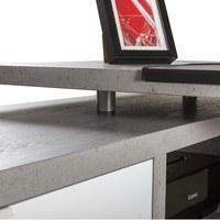 Psací stůl TICO SR0739K/561 beton/bílá 3