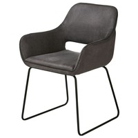 Jídelní židle     TILL šedá 1