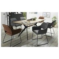 Jídelní židle     TILL šedá 2