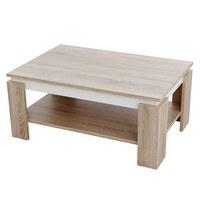 Konferenční stolek TIM II dub sonoma/bílá 1