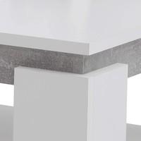 Konferenční stolek TIM II bílá/beton 3