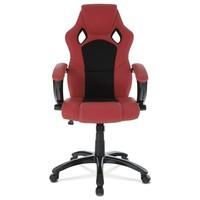 Kancelářská židle TIMO červená/černá 2