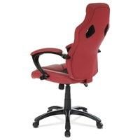 Kancelářská židle TIMO červená/černá 4