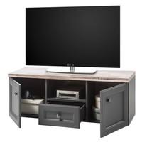 TV stolík TOSKANA 5 timber wood/sivá 2
