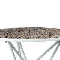 Zahradní stolek US 1000 bílá,mozaika 3