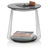 Přístavný stolek VENUTO černá, 50 cm 2