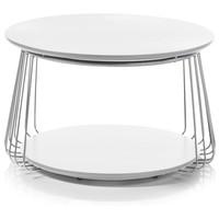 Prístavný stolík VENUTO biela, 70 cm 1