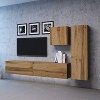 TV komoda VIVO VI 1 LED 100 cm, dub wotan 3