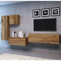 TV komoda VIVO VI 2 120 cm, dub wotan 4