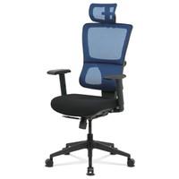 Kancelářská židle WILLIAM modrá 1