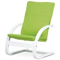 Dětské relaxační křeslo WILLY zelená 1