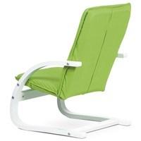 Dětské relaxační křeslo WILLY zelená 2